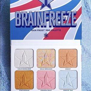 Jeffree star brain freeze skin frost. Limited